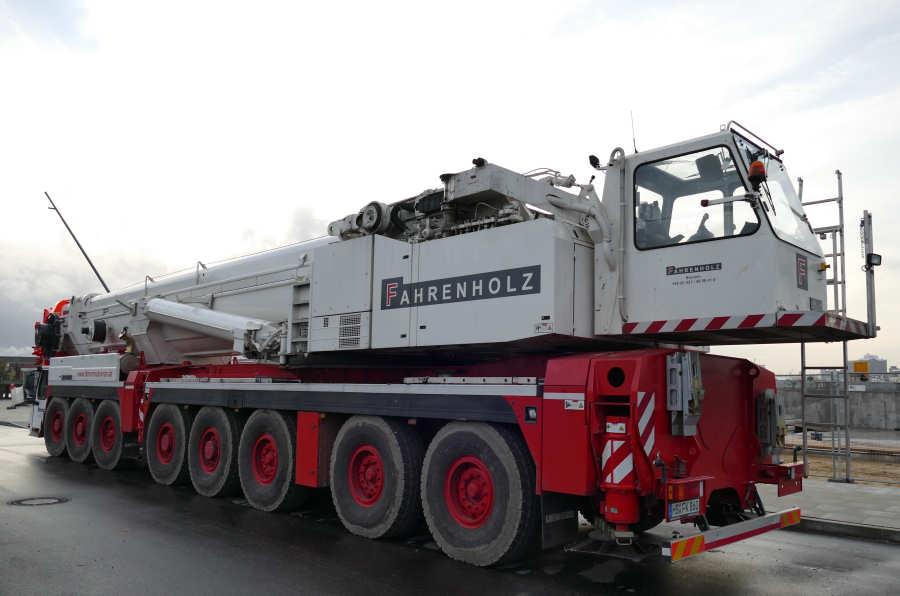 Liebherr LTM 1500 - LTM 1500-8.1 - Kranliste / Cranelist