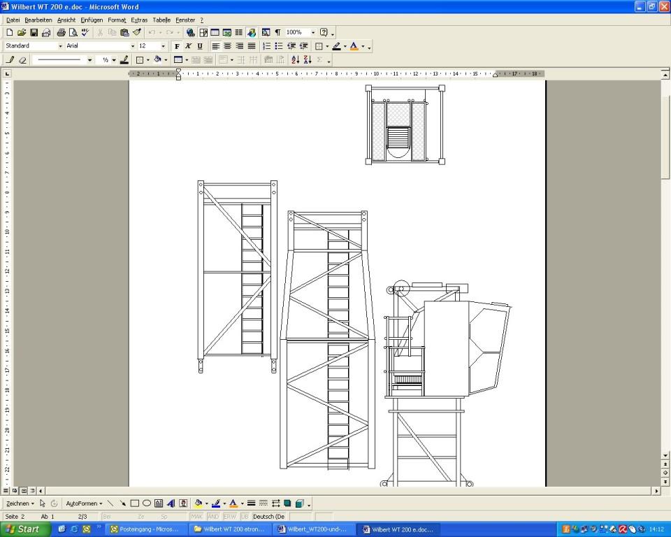 cad zeichnungen per ms word erstellen hansebubeforum. Black Bedroom Furniture Sets. Home Design Ideas